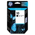HP 10 (C4844A) Black Original Ink Cartridge (2,200 Yield)