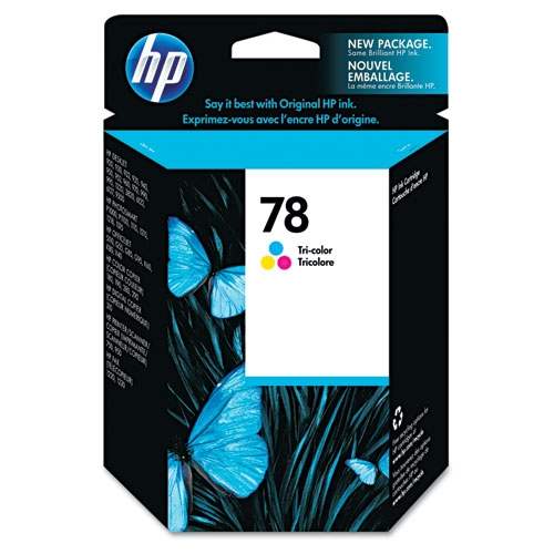 HP 78 (C6578DN) Tri-Color Original Ink Cartridge (560 Yield)
