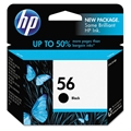 HP 56 (C6656AN) Black Original Ink Cartridge (520 Yield)