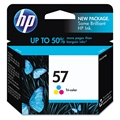 HP 57 (C6657AN) Tri-Color Original Ink Cartridge (500 Yield)