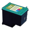 Compatible HP 97 (C9363WN) Tri-Color Ink Cartridge (560 Yield)