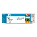 HP 91 (C9466A) Light Gray Original Pigment Ink Cartridge (775 ml)