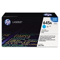 HP 645A (C9731A) Cyan Original LaserJet Toner Cartridge (12,000 Yield)