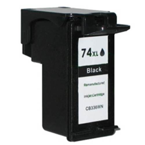 Compatible HP 74XL (CB336WN) High Yield Black Ink Cartridge (750 Yield)