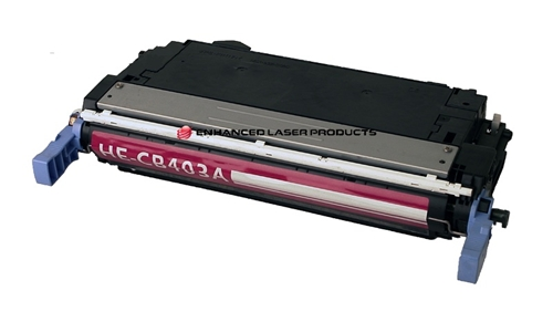 Compatible HP 642A (CB403A) Magenta LaserJet Toner Cartridge (7,500 Yield)
