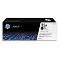 HP 35A (CB435A) Black Original LaserJet Toner Cartridge (1,500 Yield)