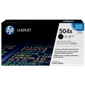 HP 504X (CE250X) Black Original LaserJet Toner Cartridge (10,500 Yield)