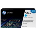 HP 504A (CE251A) Cyan Original LaserJet Toner Cartridge (7,000 Yield)