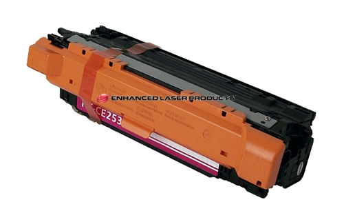Compatible HP 504A (CE253A) Magenta LaserJet Toner Cartridge (7,000 Yield)