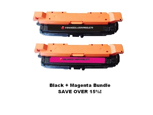Compatible 648A Black/Magenta Bundle