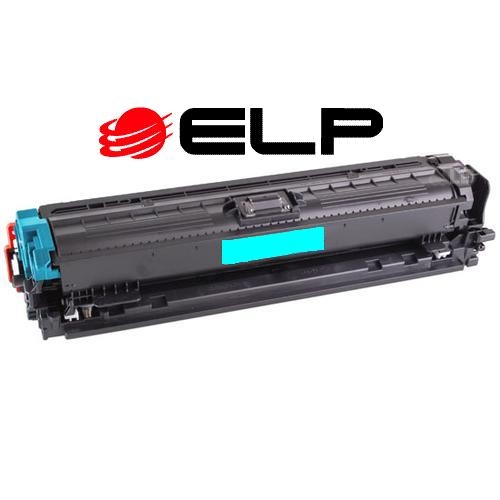 Compatible HP 650A (CE271A) Cyan LaserJet Toner Cartridge (15,000 Yield)