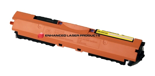 Compatible HP 126A (CE312A) Yellow LaserJet Toner Cartridge (1,000 Yield)