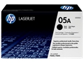 HP 05A (CE505A) Black Original LaserJet Toner Cartridge (2,300 Yield)