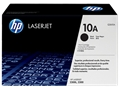 HP 10A (Q2610A) Black Original LaserJet Toner Cartridge (6,000 Yield)