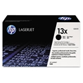 HP 13X (Q2613X) Black Original LaserJet Toner Cartridge (4,000 Yield)