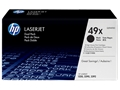 HP 49X Black Toner Cartridge (Dual Pack)