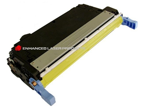 Compatible HP 643A (Q5952A) Yellow LaserJet Toner Cartridge (10,000 Yield)