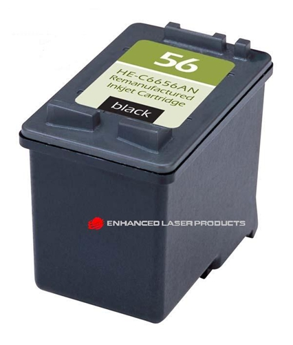 Compatible HP 56 (C6656AN) Black Original Ink Cartridge (520 Yield)