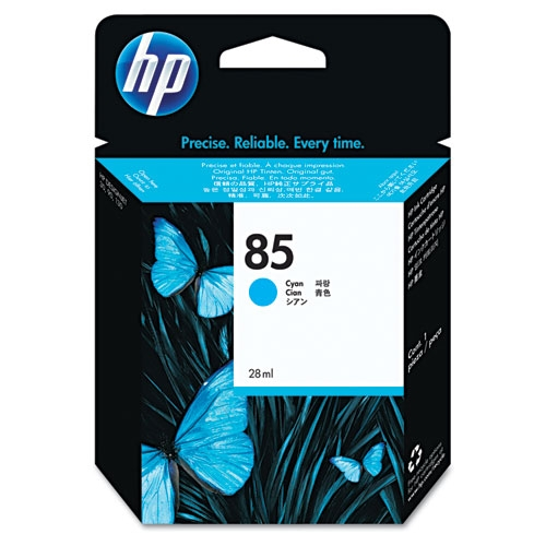 HP 85 (C9425A) Cyan Original Ink Cartridge (28 ml)