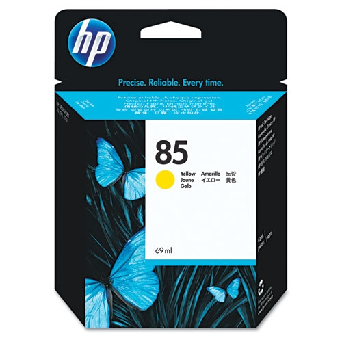 HP 85 (C9427A) Yellow Original Ink Cartridge (69 ml)