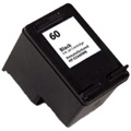 Compatible HP 60 (CC640WN) Black Ink Cartridge (200 Yield)