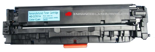 Compatible HP 304A (CC531A) Cyan LaserJet Toner Cartridge (2,800 Yield)