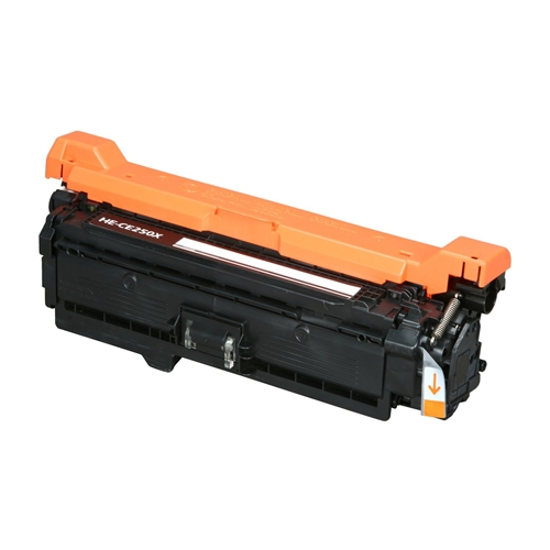 Compatible HP 504X (CE250X) Black LaserJet Toner Cartridge (10,500 Yield)