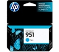 HP 951 (CN050AN) Cyan Original Ink Cartridge (700 Yield)