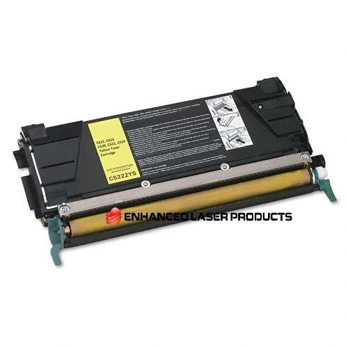 Compatible Lexmark C522, C524, C53x Yellow Toner Cartridge