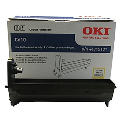 Okidata C610 Series Yellow Image Drum