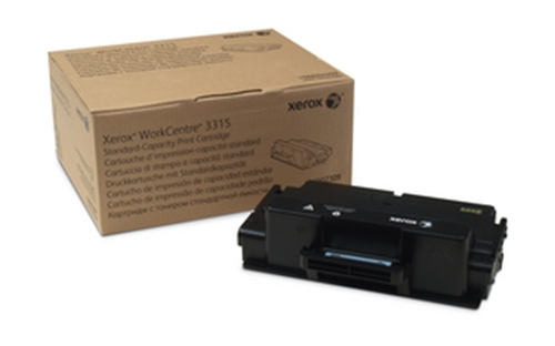Xerox Black Standard Capacity Print Cartridge, WorkCentre 3315 ONLY (2,300 Pages)