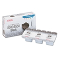 Genuine Xerox Solid Ink 8500/8550 Black (3 Sticks)