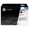 HP 643A (Q5950A) Black Original LaserJet Toner Cartridge (11,000 Yield)