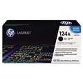 HP 124A (Q6000A) Black Original LaserJet Toner Cartridge (2,500 Yield)