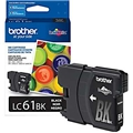 Brother (LC61BK) Black Ink Cartridge (450 Yield)