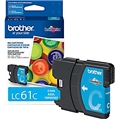 Brother (LC61C) Cyan Ink Cartridge (325 Yield)