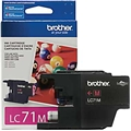 Brother (LC71M) Magenta Ink Cartridge (300 Yield)