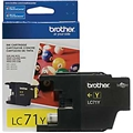 Brother (LC71Y) Yellow Ink Cartridge (300 Yield)